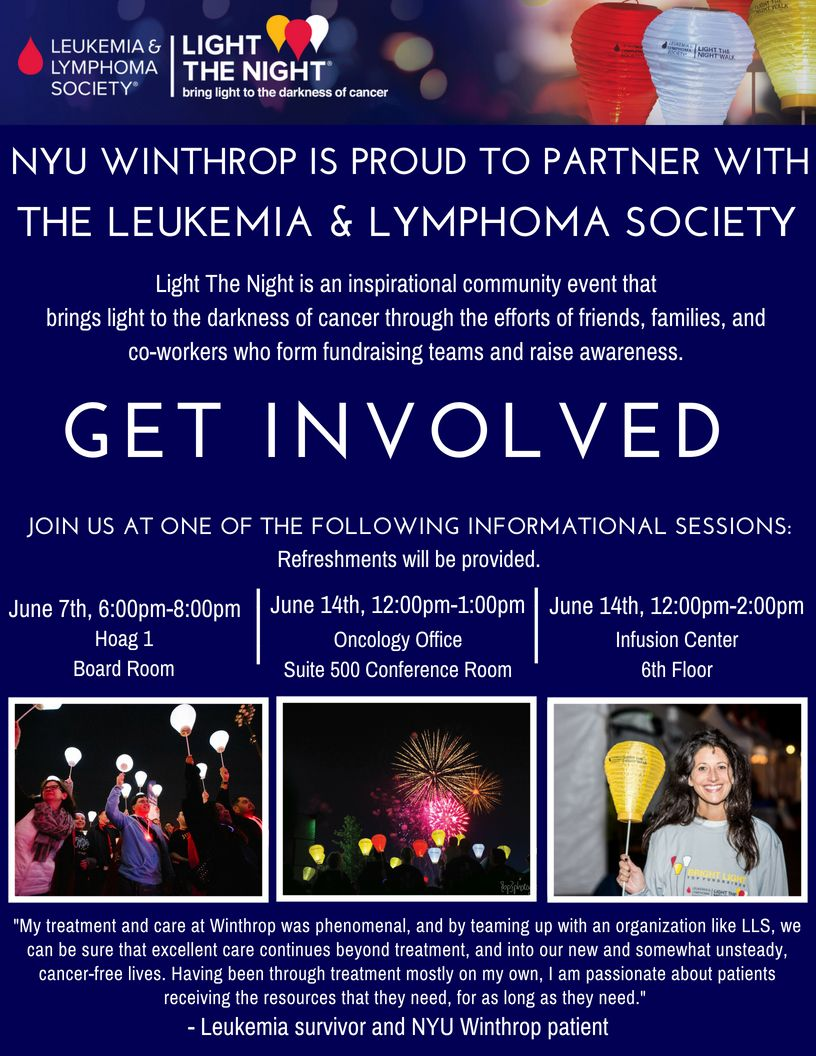 Welcome to NYU Winthrop's Fundraising Page